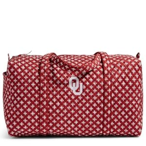 Vera bradley University of Oklahoma large bag